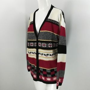 Vintage 90s Ugly Christmas Sweater Size M